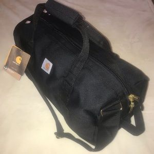 "NEW Carhartt water-repellent 20"" gear bag Black"